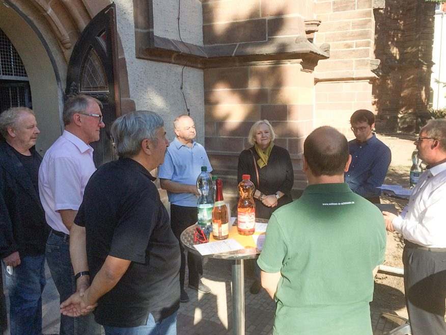"12. Oktober 2018 - Übergabe 1 Bauabschnitt - Kirchbauverein ""St. Nicolai"" Schmölln"