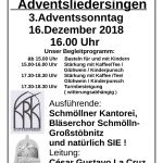 Adventsliedersingen 2018