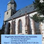 """""""Orgel""""nelle Geschichten aus Schmölln"""