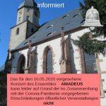 Verschoben: Ensembles AMADEUS