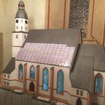 Die Sanierung der Außenfassade der Stadtkirche geht voran
