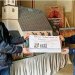 Kirchbauvereinsvorsitzender Jörg Milde übergibt Spende von 30.000 Euro für Sanierung von Sankt Nicolai in Schmölln